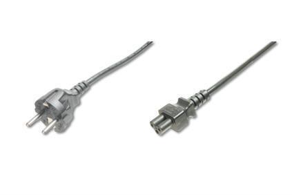 Assmann Laptop tápkábel C5 3 pin 0.75m földelt (AK-440115-008-S)