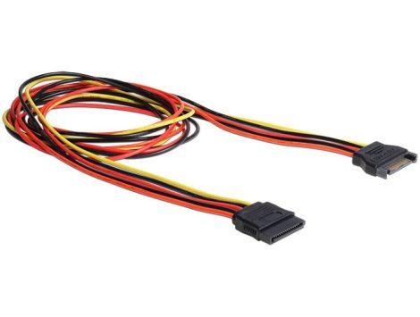 Delock SATA 100cm tápkábel hosszabbító (60133)