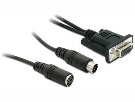 Navilock csatlakozó MD6 - soros - PS2 kábel PDA GPS vevőhöz (61265)
