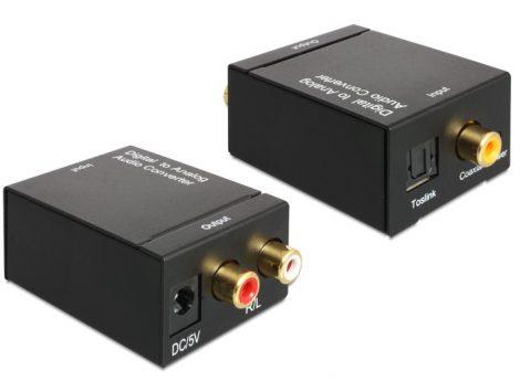 Delock Optikai - RCA átalakító audio konverter (62444)