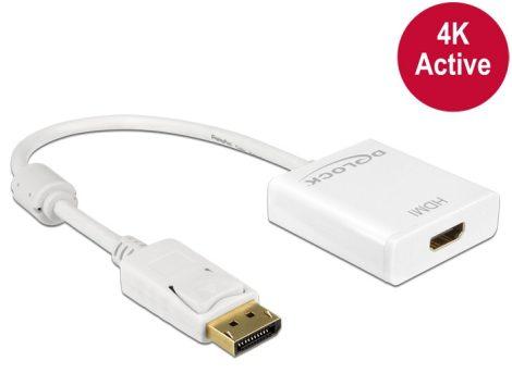 Delock Displayport 1.2 - HDMI 4K aktív adapter (62608)