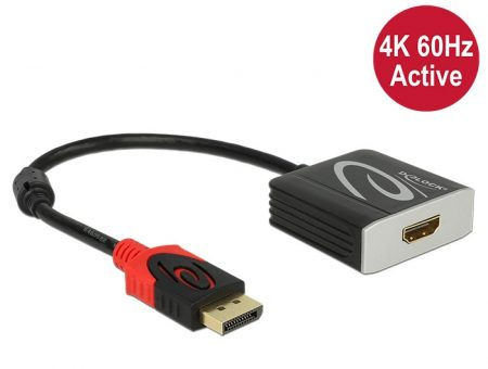 Delock DisplayPort apa 1.2 - HDMI anya adapter 4K 60HZ (62734)