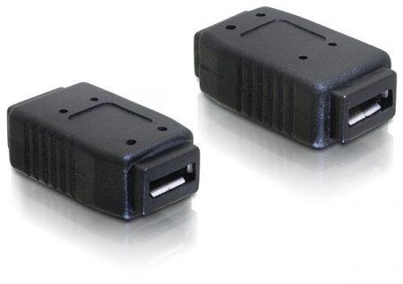 Delock USB micro anya - USB micro anya toldó adapter (65034)