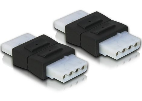 Delock adapter, 4 pin Molex toldó (65045)