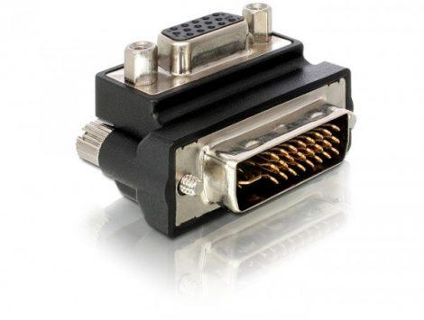 Delock VGA anya - DVI 24+5 apa adapter (65172)