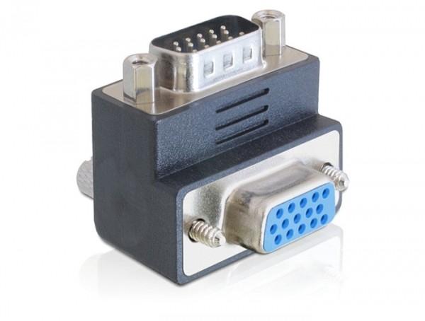 Delock VGA apa - VGA anya 270 fokos adapter (65290)