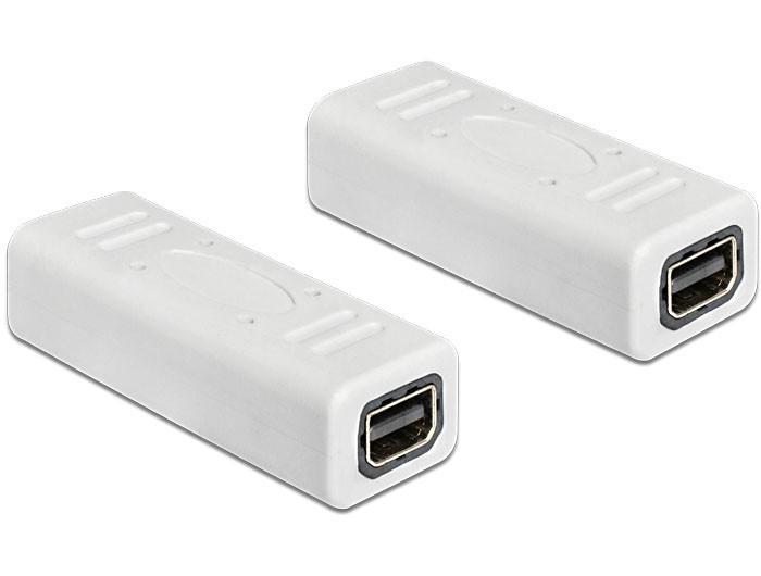 Delock mini DP toldó adapter (65450)