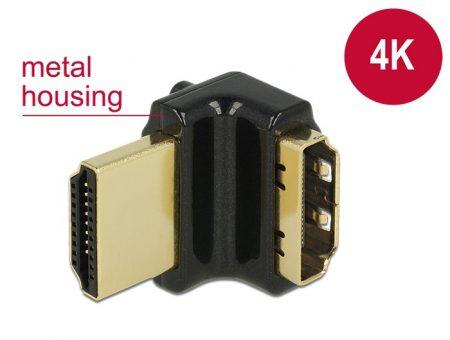 Delock HDMI 270 fokos fordító 4K adapter (65663)