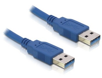 Delock USB 3.0 A-A kábel 1.5m kék (82430)