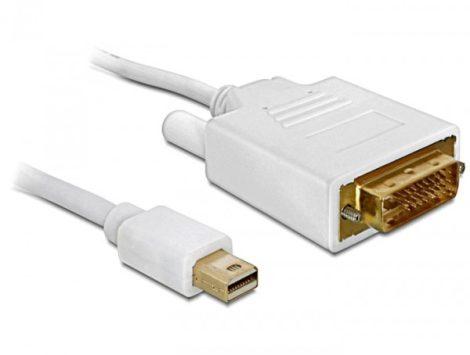 Delock mini DP 1.1 - DVI-D kábel 1m (82641)
