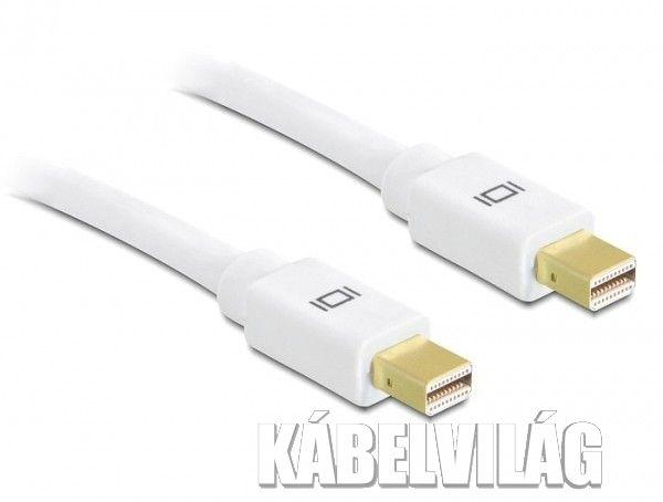 Delock mini Displayport kábel 2m (82795)