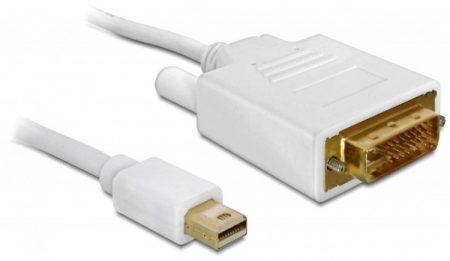 Delock mini DP - DVI-D kábel 2m