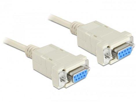 Delock Null modem kábel 1.8m (84077)
