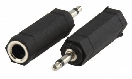 Valueline Adapter 3.5mm monó dugó - 6.35mm monó aljzat