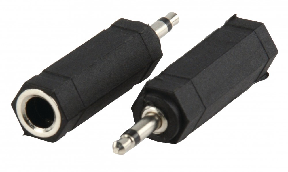 Valueline Adapter 3.5mm monó dugó - 6.35mm monó aljzat