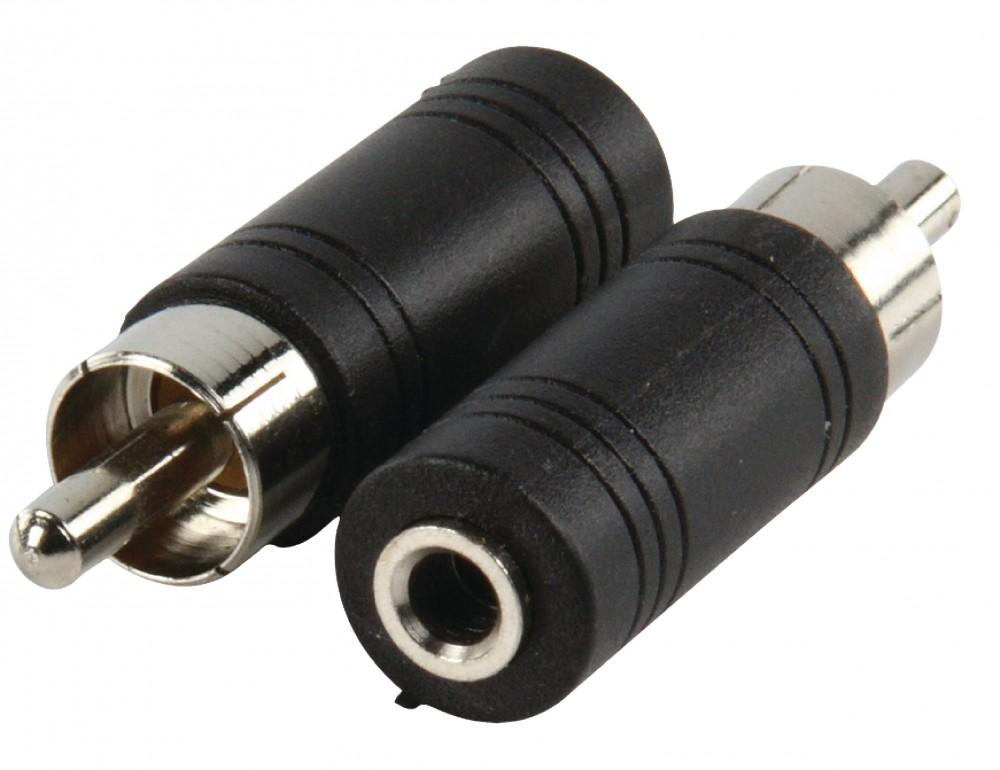 Valueline Adapter RCA dugó - 3.5mm monó aljzat