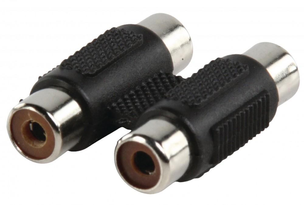 Valueline Adapter 2x RCA aljzat - 2x RCA aljzat