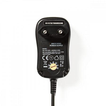 Nedis Univerzális hálózati adapter állítható 3-12V DC 1A (ACPA001)