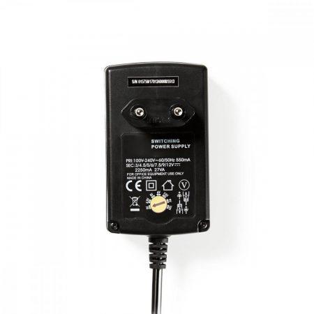 Nedis Univerzális hálózati adapter állítható 3-12V DC 2.25A (ACPA007)