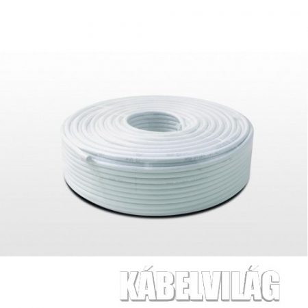 Amiko RG6 koax kábel 100m rezezett (RG6W100CCS40)