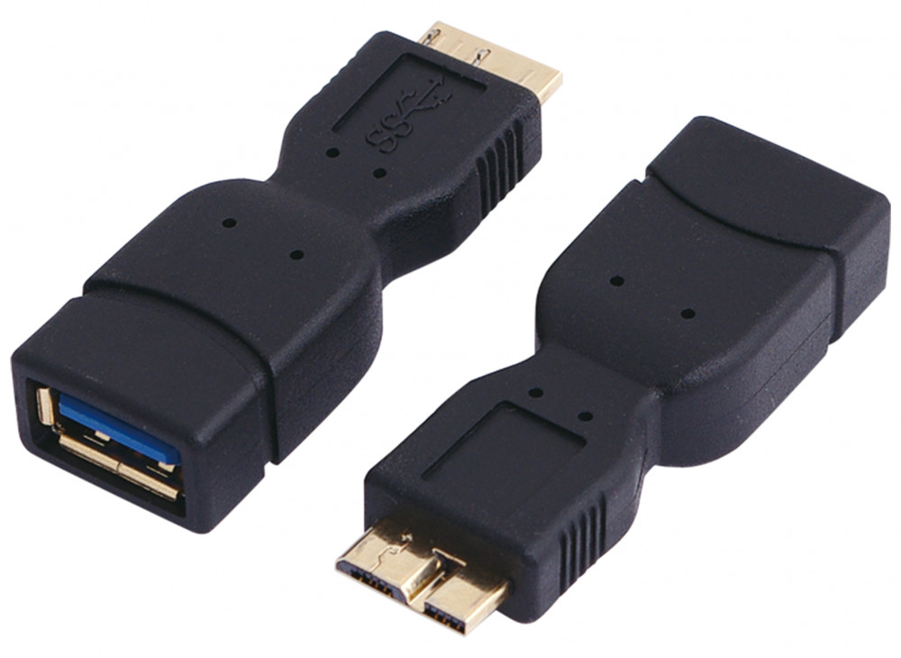 Logilink USB 3.0 B anya - USB 3.0 micro apa adapter (AU0022)