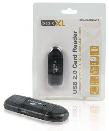 basicXL SD / SDHC / MMC USB 2.0 kártyaolvasó