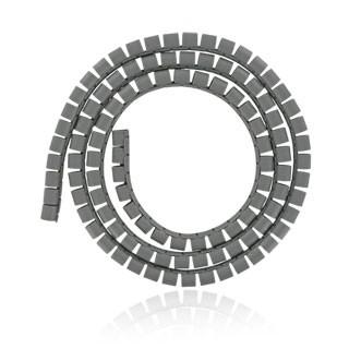 4World kábelrendező (16 mm, 1.5m, szürke)