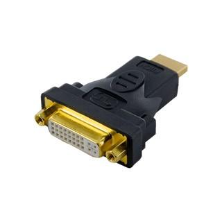 4World Adapter HDMI dugó - DVI aljzat