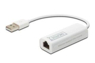 Digitus USB 2.0 Fast Ethernet adapter hálózati kártya