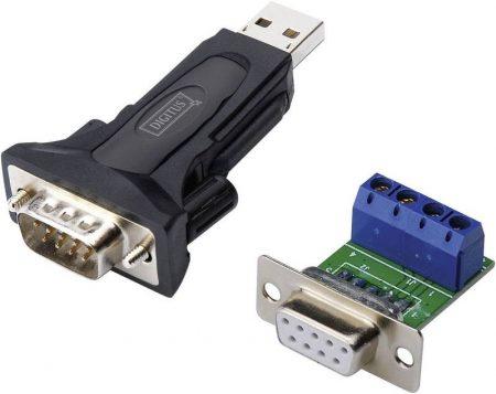 Digitus USB 2.0 - RS485 (DB9M) konverter