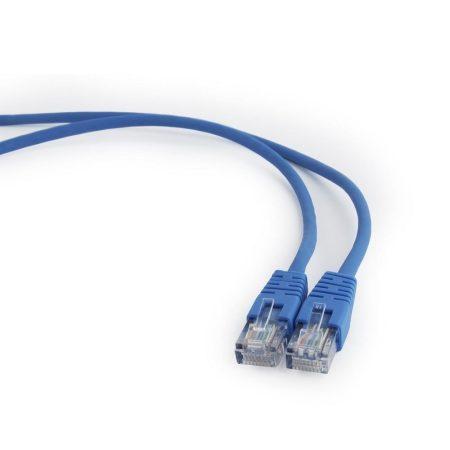 Gembird UTP CAT5e patch kábel 0.5m, kék