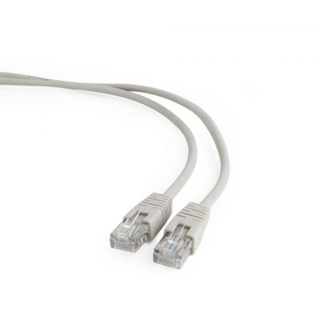Gembird UTP CAT5e patch kábel 7.5m, szürke