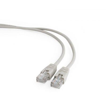 Gembird UTP CAT5e patch kábel 10m, szürke (PP12-10M)