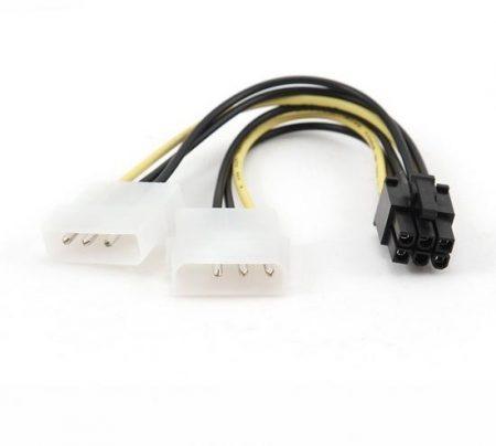 Gembird Internal tápegység kábel PCI-E számára