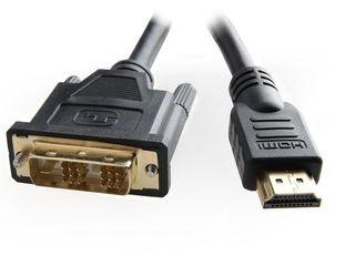 Gembird HDMI - DVI 7.5m kábel aranyozott (CC-HDMI-DVI-7.5MC)