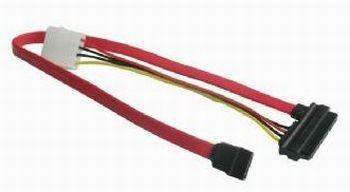 Gembird SATA 3 45cm adat és táp kábel
