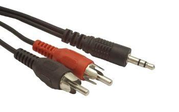 """Gembird 3.5"""" Jack - 2x RCA átalakító kábel 15m (CCA-458-15M)"""