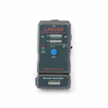 Gembird RJ-45,RJ-11,UTP,STP,USB kábel tesztelő