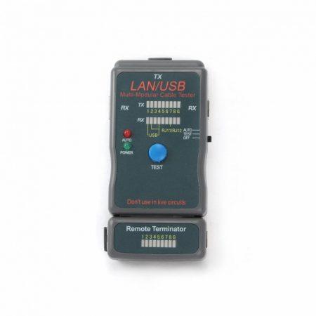 Gembird RJ-45,RJ-11,UTP,STP,USB kábel tesztelő (NCT-2)
