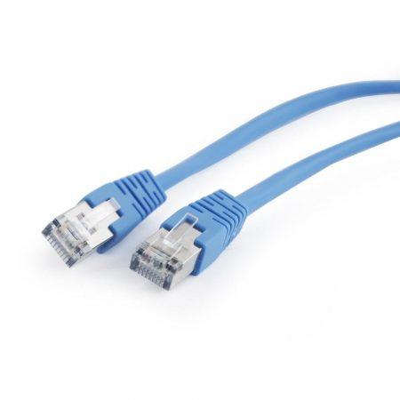 Gembird FTP CAT5e hálózati patch kábel 0.5m, kék