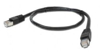 Gembird FTP CAT5e hálózati patch kábel 1m, fekete