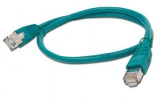 Gembird FTP CAT5e hálózati patch kábel 1m, zöld