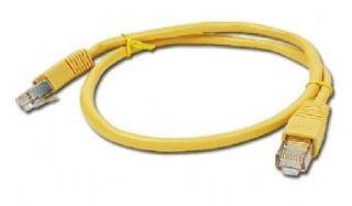 Gembird FTP CAT5e hálózati patch kábel 1m, sárga