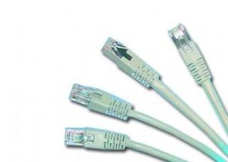 Gembird FTP CAT5e hálózati patch kábel, 1.5m, szürke