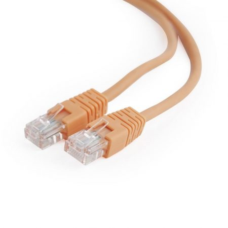 Gembird UTP CAT5e patch kábel 0.5m, narancssárga