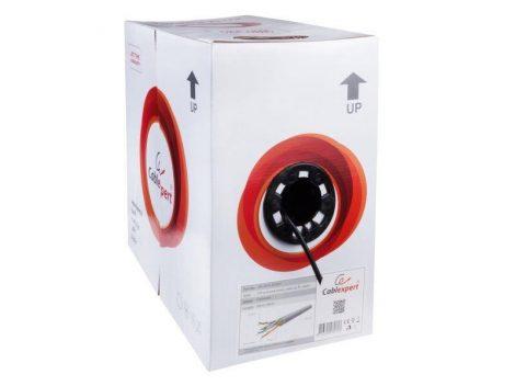 Gembird FTP kültéri dobozos kábel 305m CAT5, fekete (FPC-5051E-SO-OUT)