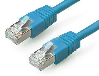 Gembird FTP CAT6e hálózati patch kábel 1m, kék