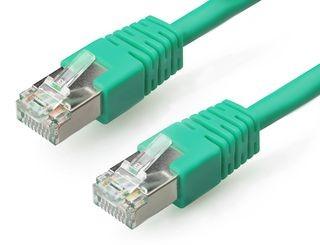 Gembird FTP CAT6e hálózati patch kábel 1m, zöld