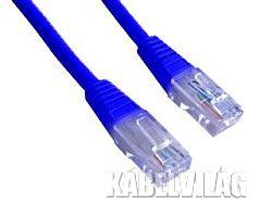 Gembird UTP CAT5e patch kábel 1.5m, kék (PP12-1.5M/B)