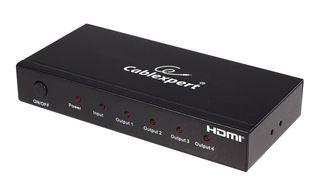 Gembird 4 portos HDMI elosztó szétosztó 3D támogatás (DSP-4PH4-02)